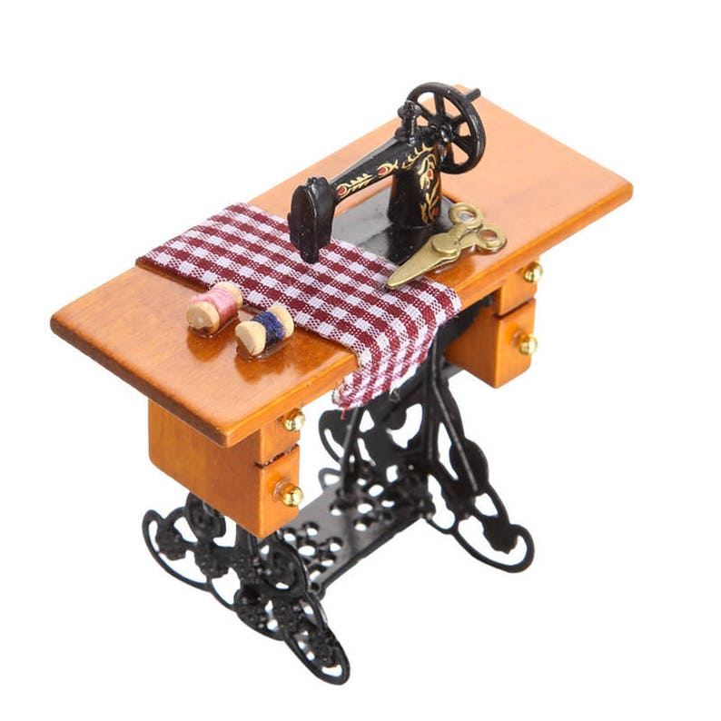 1:12 Dollhouse simulation crafts toys mini metal scissors furniture toy