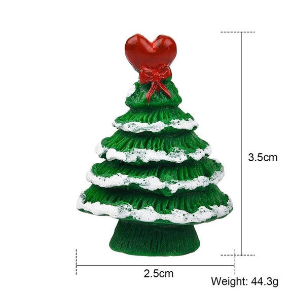 5Pcs 1 12 Dollhouse Miniature Christmas Tree Christmas Decorations Suppl zi