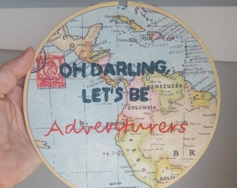 """7"""" Oh darling, let's be adventurers"""