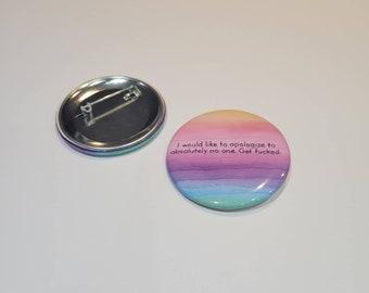 """2"""" Embroidery Replica button"""