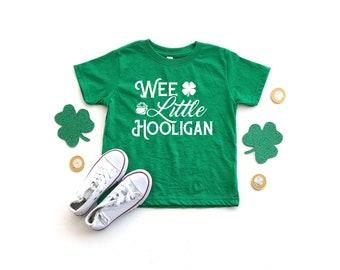 cc6148b6 Wee Little Hooligan St Patricks Day Toddler Shirt For Boys Girls Childrens Clothes  Irish Ireland Kids St Pattys Shamrock Unisex T-Shirt