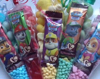Large Paw Patrol Themed Sweetie Cones