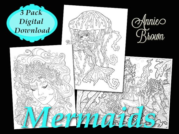 Coloring Pages Pdf Download Adult Coloring Book Printable Etsy