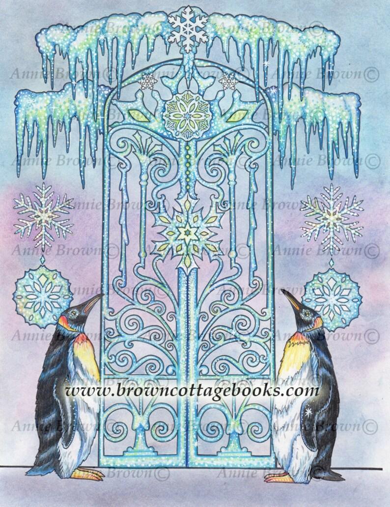 Kleurplaten Dieren Pinguin.Volwassen Kleurplaten Pagina Dieren Digi Stempel Line Art Etsy