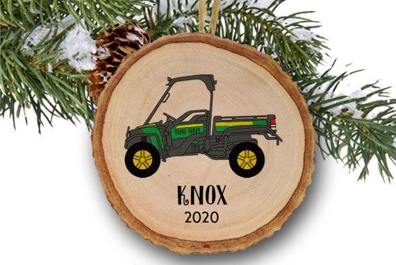 2020 John Deere Christmas Ornaments Personalized Christmas ornaments John Deere Ornament | Etsy