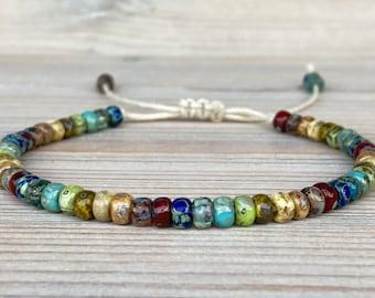 Boho bracelets, beads bracelet for men, ethnic bracelet women