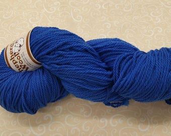 Shepherd's Wool - Worsted Spun Fine Wool - Color #022717 Blue