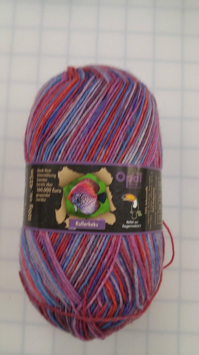 Opal Yarn Kullerkeks Rainforest Color #9241