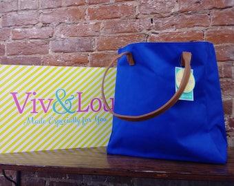 Viv & Lou - Tote Bag - Royal Blue