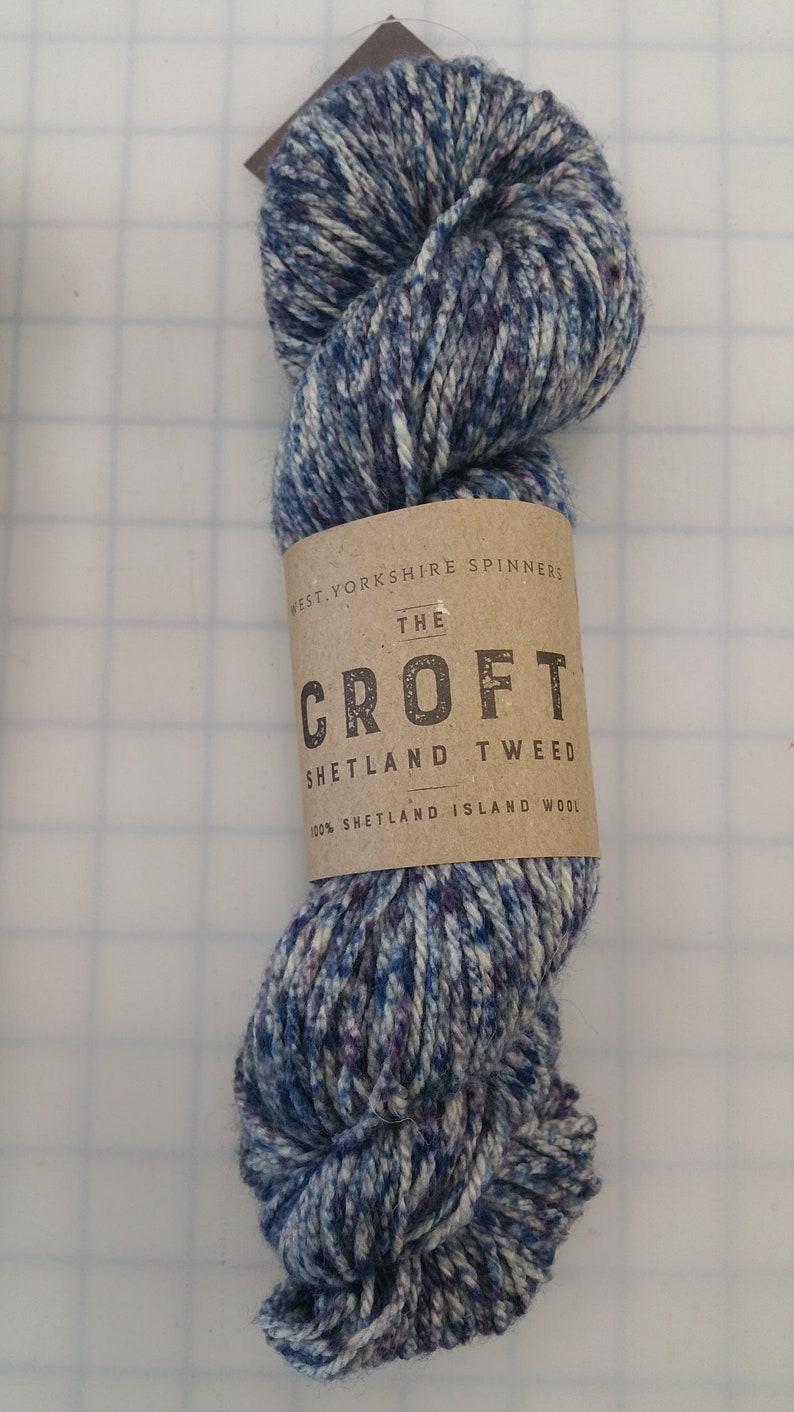 The Croft Shetland Tweed WYS Color #756 Boddam