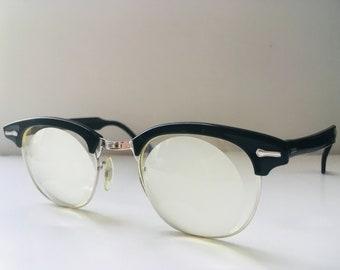 f585c07b19d Vintage 1950s Buddy Holly Horn-Rimmed Eyeglasses