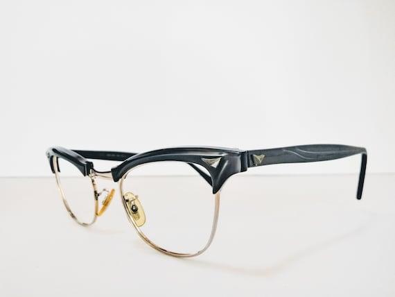 Grey 1950s Cat Eye Glasses