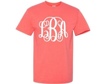 a4f4613b6a5b0 Monogrammed shirt | Etsy