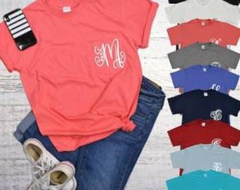 bd3a326ddb23a Cheap monogram shirt | Etsy