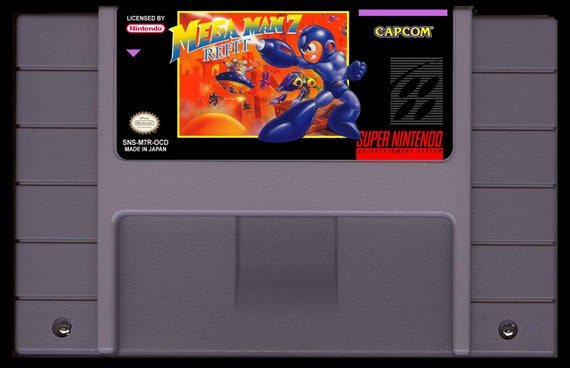 Mega Man 7 carénage