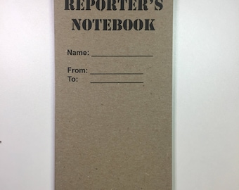 """Customizable Reporters Notebook 10 Pack - 4"""" x 8"""""""