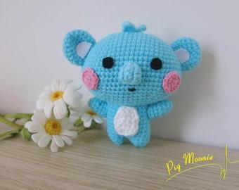 Crochet Amigurumi Cooky & Shooky from Universtar BT21 - Imgur   270x340