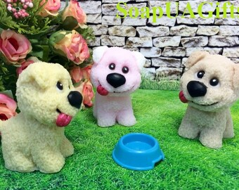 Kids Soap Toy Soap Soap Party favors Birthday Parti Baby Shower Favors Dog Soap Puppy Soap Dog Shaped Soap Animal Soap Handmade