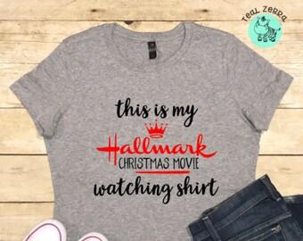 a899cfa2 Hallmark Christmas Movie Shirt, Hallmark Channel Shirt, Christmas Shirt