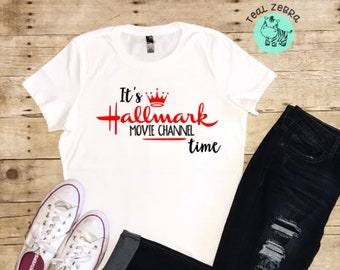 884fb168 Hallmark Channel Shirt, Hallmark Christmas Movie Shirt, Christmas Shirt