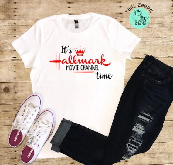 Hallmark Christmas Shirt.Hallmark Channel Shirt Hallmark Christmas Movie Shirt Christmas Shirt