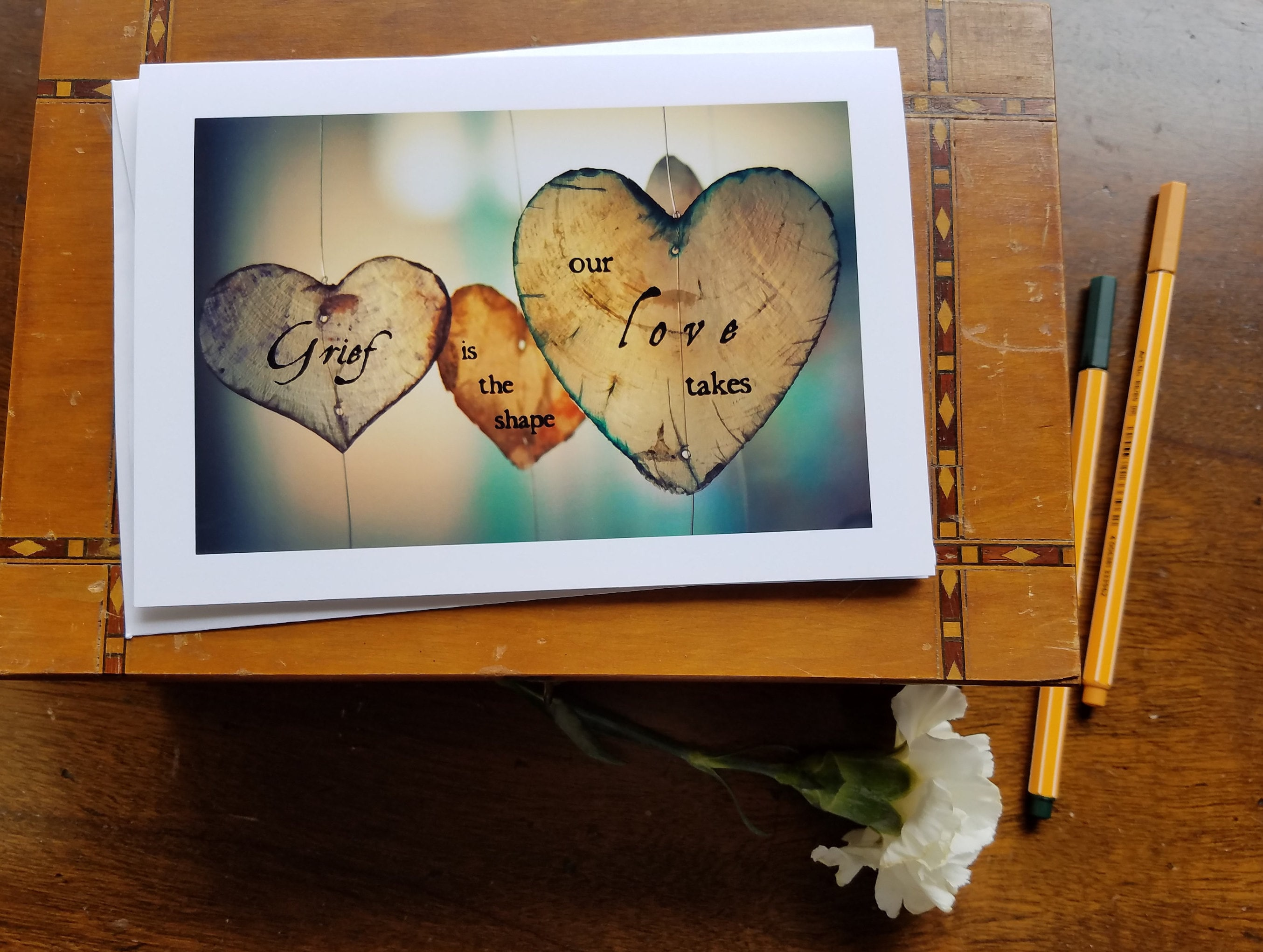 Sympathy Card Bereavement Card Loss Of Loved One Sorry Etsy