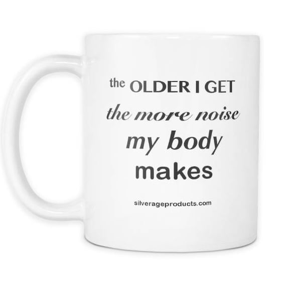 Aging Humor 50th Birthday Gift Idea Coffee Mug Great For