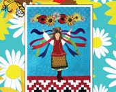 She Dances Too Appliqué Art Quilt Pattern