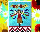 She Dances Too Appliqué Art Quilt Pattern