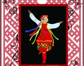 She Dances Applique Art Quilt Pattern