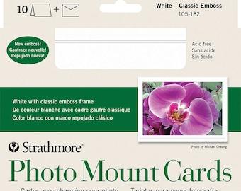 Photo Mount Cards Etsy