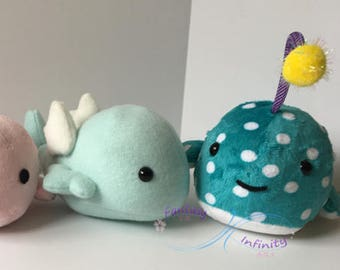 Custom Plushie Fish Skyfish Angler Fish Mix and Match features!