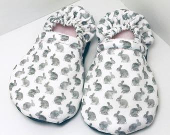b5e18b69233e2 Lapin chaussures-mocassins blanc-lapin chaussons-lapin chaussons-lapins  chaussons-lapin chaussures-bambin mocassins-chaussures de bébé