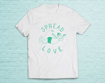 """Sweater """"Spread the love"""" unisex T-shirt"""