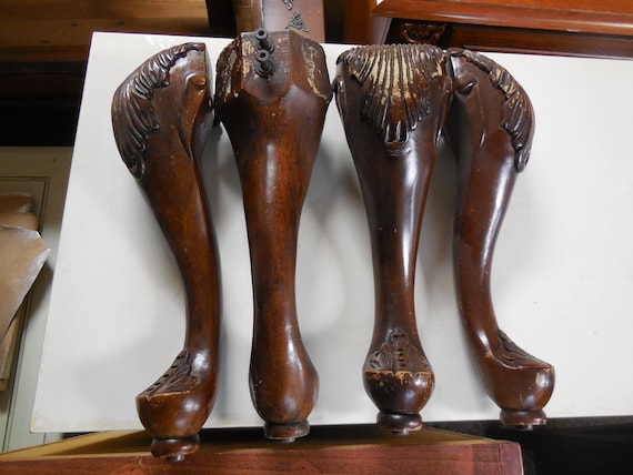 Attirant French Provincial Furniture Legs, Wooden, Vintage From Goldeneggpainting On  Etsy Studio