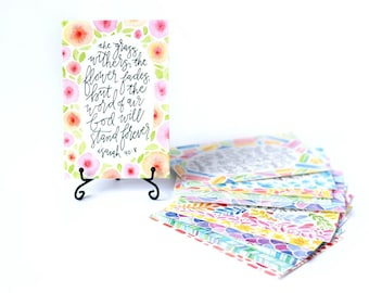 Bible Verse Cards, Scripture Verse Cards, Memory Verse Cards, Bible Scripture Cards, Scripture Cards, Scripture Memory Cards