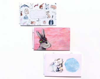 Decorative Envelopes, Rabbit Envelope Set, Mail Art, Envelope Art, Penpal, Happy Mail, Snail Mail, Pen Pal, Letter Writing, Envelopes