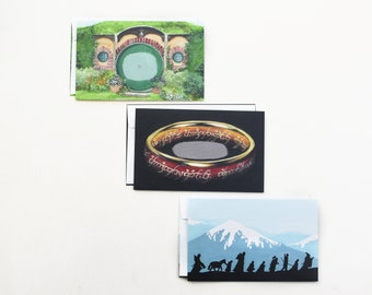LOTR Decorative Envelopes, Mail Art, Envelope Art, Penpal, Happy Mail, Snail Mail, Pen Pal, Letter Writing, Lord of the Ring Gift, Tolkien