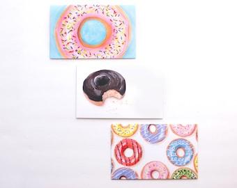 Decorative Envelopes, Donut Envelopes, Mail Art, Envelope Art, Penpal, Happy Mail, Snail Mail, Pen Pal, Letter Writing, Decorated Envelope