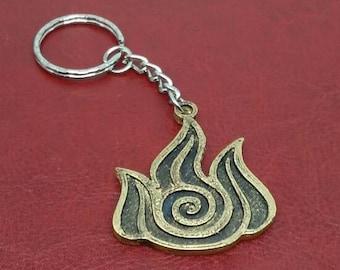 Fire Kingdom Keychain