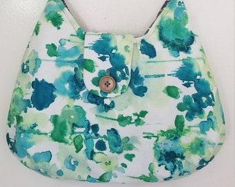 Pencil Case Set Origami Butterflies-Green TM School Messenger Bag