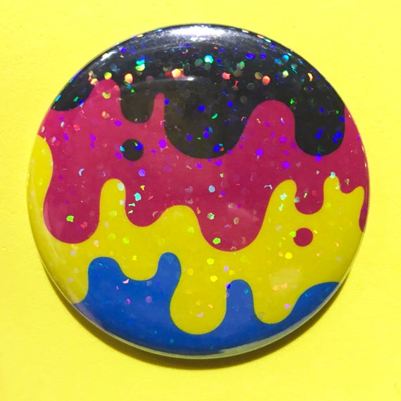 Cmjn Glitter Slime 2 25 Pin Fonte Fonte Goo Etsy