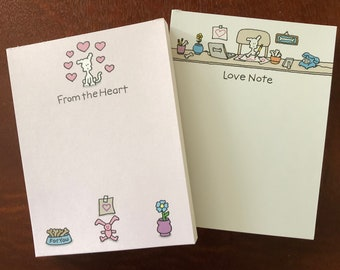 Chippy Love Note Pads