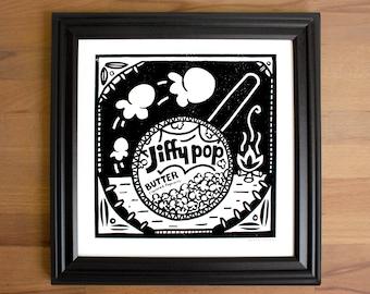 Jiffy Pop Screen Print