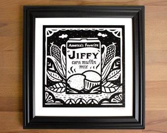 Jiffy Corn Muffin Screen Print