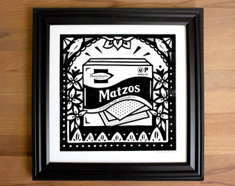 Matzoh Screen Print