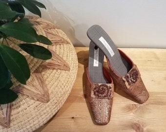 bbcecdb3d65 Olivia Rose Tal Paisley Kitten Heels - Wedding Shoes