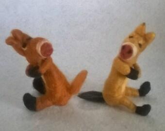 Cute little donkey Weather Toy
