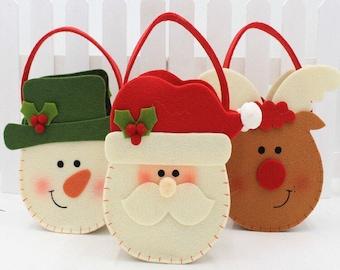 Hot Ing Drawstring Christmas Gift Bags 15 Sets
