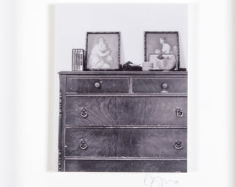 Dresser Art | Original Fine Art Photograph 8 in. x 10 in. Framed | Archival Print on Metallic Inkjet Paper Mounted